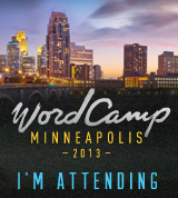 WordCamp Minneapolis 2013 Attendee