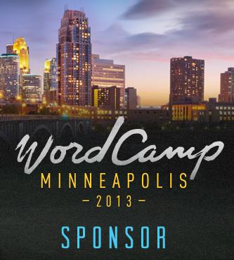 WordCamp Minneapolis 2013 Sponsor