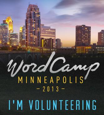 WordCamp Minneapolis 2013 Volunteer