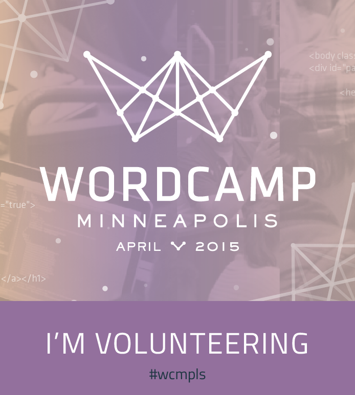WordCamp Minneapolis 2015 Volunteer